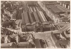 The Hamburg-Altona Train Station, Hamburg
