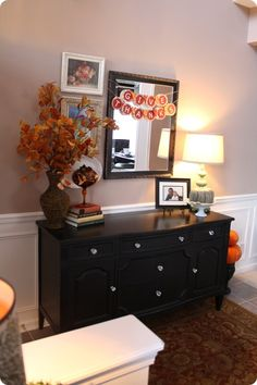 A thankful foyer #Fall