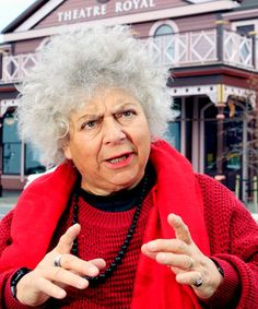 """Visiting actress Miriam Margolyes reckons you should see her show at the Theatre Royal. Why? """"It's unusually good.""""    """"You won't see anything like this again,"""" said the self-described """"brilliant actress"""" from Britain.    The quirky and outspoken woman is on a tour of the country, celebrating the 200th anniversary of Charles Dickens' birthday with a solo production called Dickens' Women.    Margolyes, who is in her 70s, presents 23 of Dickens' most interesting and peculiar characters on stage."""