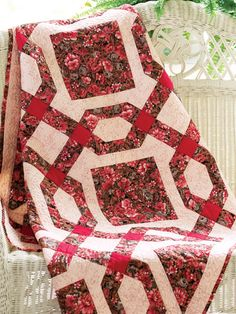 Chained Nine-Patch quilt pattern $3.99