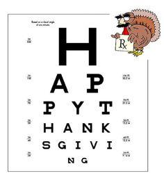 eye humor, sore eye, eye chart, eye stuff