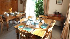 The bed and breakfast dining room @stayryehillfarm #Northumberland #B&B http://ryehillfarm.co.uk/bedandbreakfast-northumberland.html