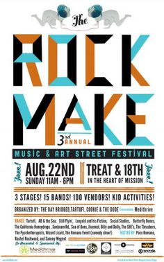 rock make festival this weekend