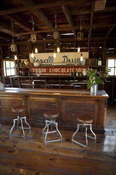 The bar in my barn
