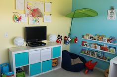 Project Nursery - Boy Cheerful Playroom Room View