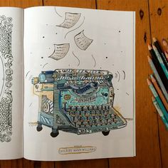 Coloring Book Interview Series, #2: Cherry Wynn-Williams