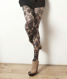 Tights with matching packages