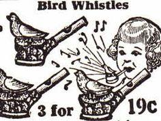 1920s Bird Whistles