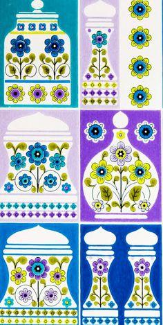 danish wallpaper design