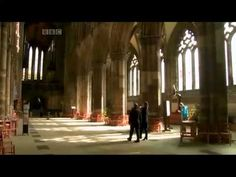 Wonderful video about Rosslyn Chapel, built in the mid-1400s by William St Clair about 8 miles south of Edinburgh.