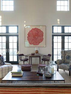 Oyster Bay Beach House - Eclectic - Living Room - New York - Heide Hendricks