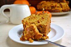 Whole Wheat Pumpkin Butterscotch Cake