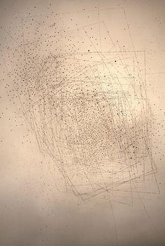 Emma McNally  Graphite on paper colour note 2