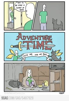 adventur time, humor thing, dogs, adventure time, funny pictures