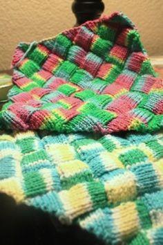 Entrelac Knitting Dishcloth Pattern : Knitting - Accessories on Pinterest 55 Pins