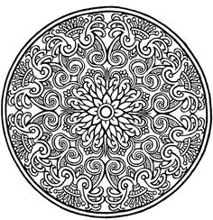 Mandala from Dover Designs