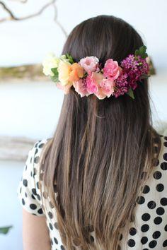 DIY Diaries | Florals: Sweet Woodruff | Photo by: Lisa Collins via stephaniesterjovski.com