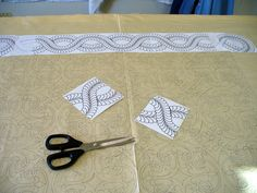 Cindy Needham: Wholecloth Quilt...being born!