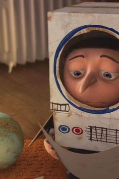 Baby Gru! ;( *tear* poor lil' guy. . . *sniff-sniff*