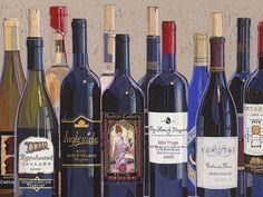 kitchens, virginia wine, mize, numbers, virginia art, origin art, number one, drinks, drink wine