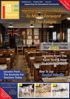 The October issue of UKED Magazine - History theme.