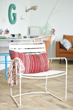surprising by wood & wool stool, via Flickr