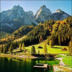 Alpine pastures in the Austrian Alps #austria #alps #mountains #summer #lake #relaxation #visitaustria