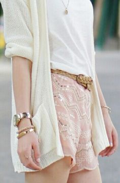 sequins short