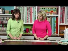 How to create Mitered Corners on your quilt! The Riley Blake crew is so adorable!