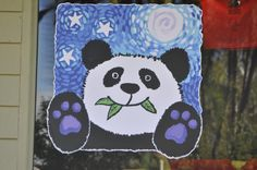 Starry night panda, San Diego Zoo