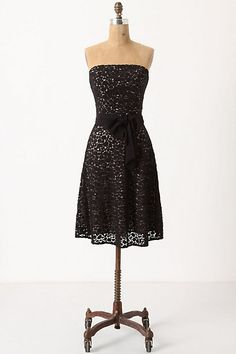 Little Black Dress [anthropologie]