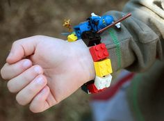 Ramblings From Utopia: DIY: Lego Bracelet