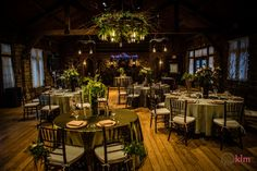 winter wedding reception - in Allison Peabody Hall - Abe Martin Lodge- Brown County State Park - KLM photography