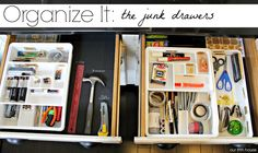 Organize It: The Junk Drawers