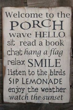 decor, sign, idea, outdoor, hous, garden, quot, front porches, thing
