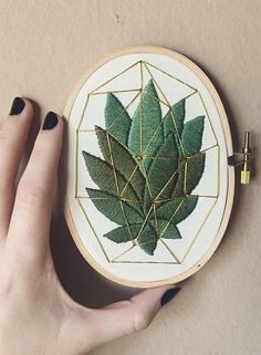 18 Embroidery Instag