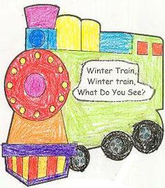 printable emergent reader for Polar Express