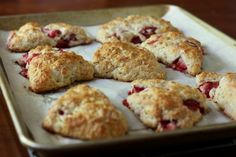 Strawberry Yogurt Scones.  Highly recommended. An easy recipe ~ moist, and delicious!!!