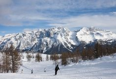 Gentle pistes of Mad