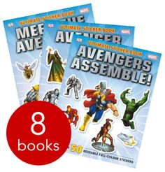 Marvel's superheroes have taken the world by storm - and this eight-book collection includes all your favourites, from the awesome Avengers to the Amazing Spider-Man.