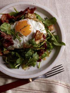 Warm Bacon-and-Egg Salad | Food & Wine