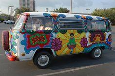 Hippie - van