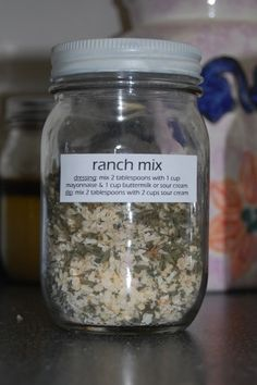 Dry Ranch Mix