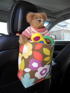 car bag tutorial