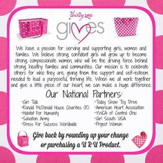Giving back with Thirty-One Gives
