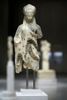 Exhibits from the Acropolis museum in Athens, Greece #kitsakis