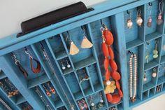 jewelri display, jewelry displays, jewelri case, type drawer, diy projects