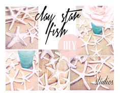 ..Twigg studios: faux clay star fish diy