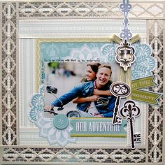 © Anna Griffin, Inc. @Anna Totten Totten Totten Griffin, Inc. Fantastic layout and detail! #annagriffingiveaway