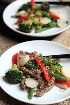 Steak and Vegetable Stir fry